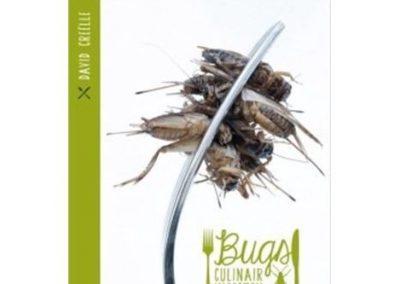Bugs, een culinair insectenkookboek van David Creëlle